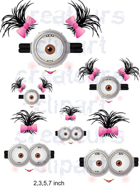printable minion eyes and mouth minion mouth printable images