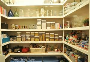 organizing a large pantry