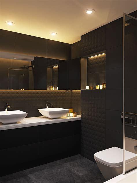 progetti bagno moderno bagni neri moderni 25 foto di progetti di design