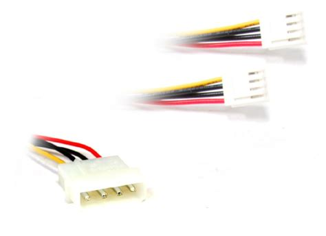 Kabel 4 Pin Molex To 2x Fdd Power High Quality molex 4 pin to 2x 4 pin fdd floppy disk drive y power cable strom y kabel