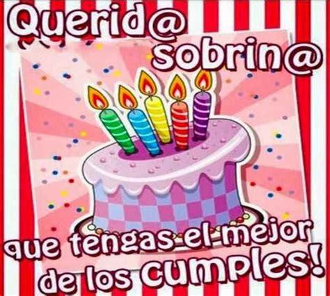 imagenes happy birthday sobrina frases de cumplea 241 os para una sobrina frases para