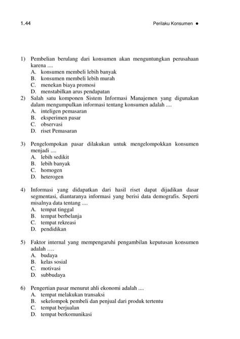 Konsep Dasar Riset Pemasaran Dan Perilaku Konsumen bmp ekma4567 perilaku konsumen