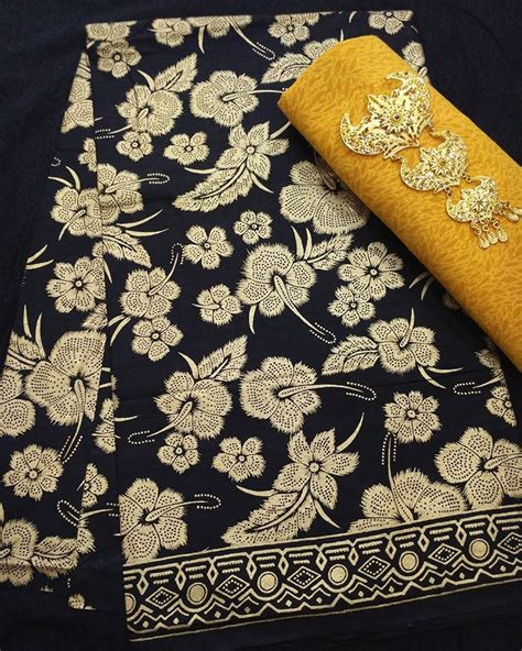 Kain Batik Kain Batik Prada Kain Batik Unik Kain Batik Bagus kain batik pekalongan batik prada motif bunga ka3 20 batik pekalongan by jesko batik