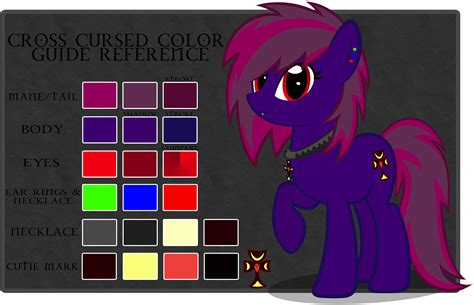 Cursed Colors by Cross Cursed Color Guide By Feather On Deviantart