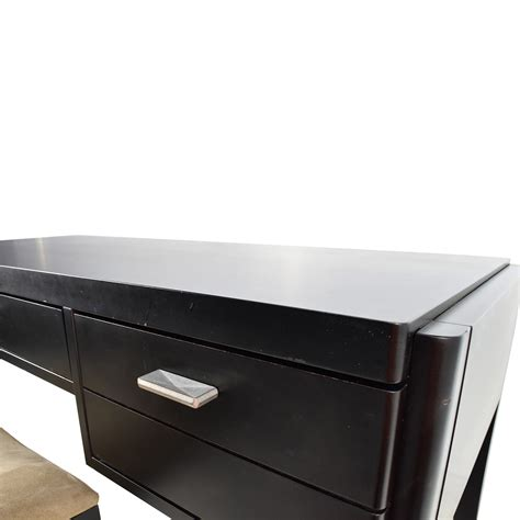 crate and barrel desk 78 off crate barrel crate barrel black wood desk