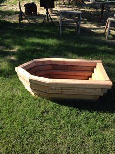 rowboat planter wood plans small attractive planter