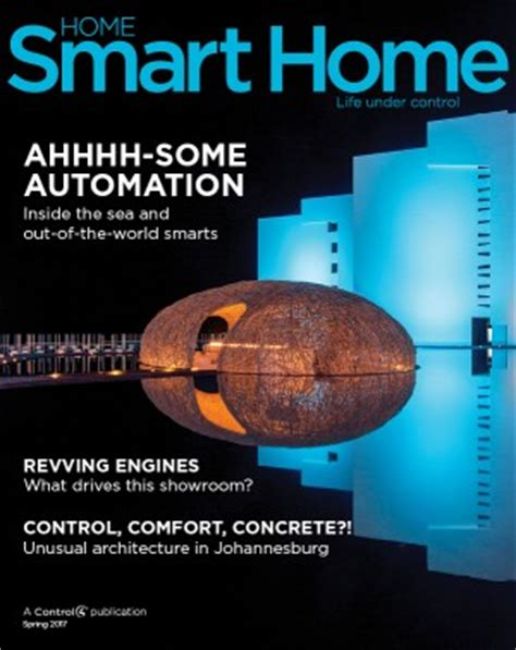 home automation and smart home systems control4