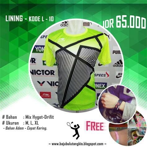 Kaos Lining Yonex Lokal baju kaos kostum seragam pakaian bulutangkis badminton