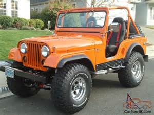 Vintage Jeep For Sale Vintage 1958 Willys Jeep Cj5
