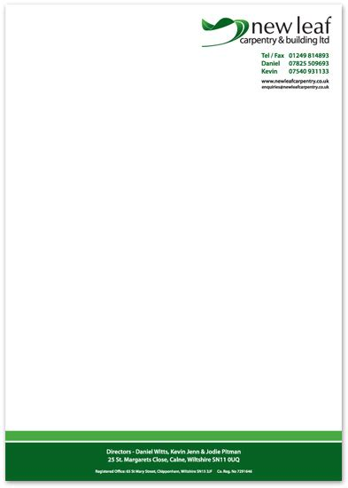 Reference Letter On Headed Paper 9 best photos of stationery letterhead design best