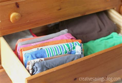 how to organize your t shirts