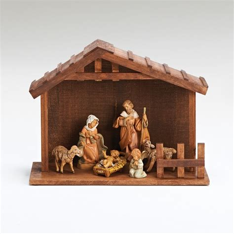 fontanini 7 pc set my 1st nativity creche the catholic