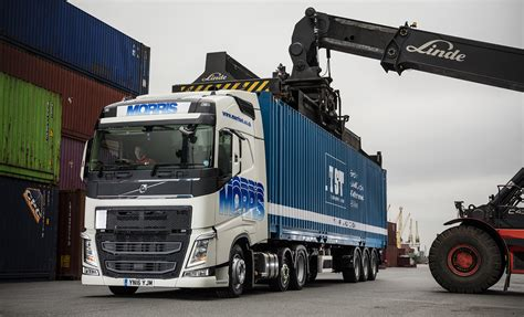 morris sons  height volvo fh chassis   big apple fleet uk haulier