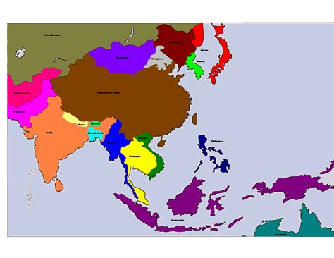 map of east and south asia image south east asia map png alternative history