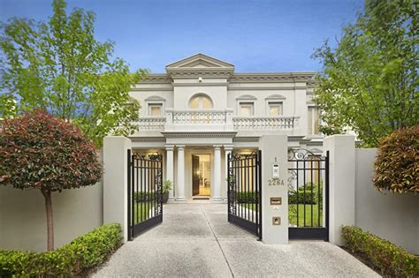House Plans Two Master Suites by Kooyong Road Toorak Vic 3142 Townhouse Recently Sold