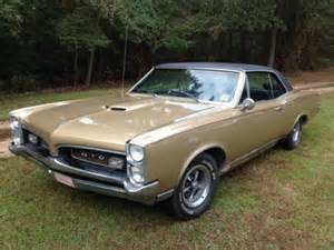 1967 Pontiac Gto Colors Sell Used 1967 Pontiac Gto Original Owner Gold Color