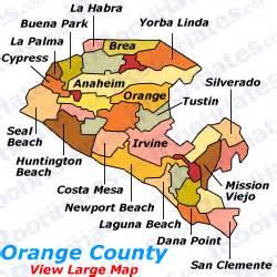 us map orange california roommates and rooms for rent in orange county california