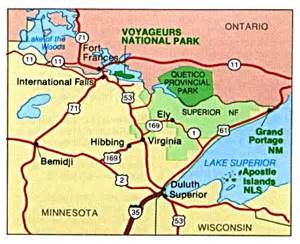 Minnesota State Park Map by Free Download Minnesota National Park Maps