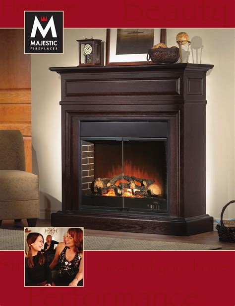 Majestic Fireplace Manual by Majestic Indoor Fireplace Classic Series User Guide