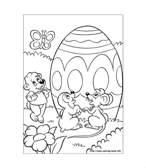 easter bunny coloring pages pdf easter colouring page 26 free pdf documents download