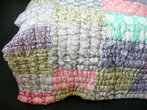 Handmade Cotton Quilts - finest handmade cotton patchwork quilt with