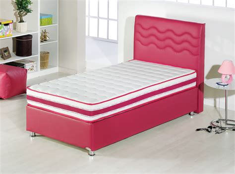 Twinjoy Platform Bed W Headboard Twin Xl Size Fuchsia By Bed Xl