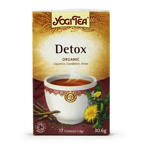 How To Use Yogi Detox Tea by Yogi Detox Tea 17 Bags Buy Whole Foods