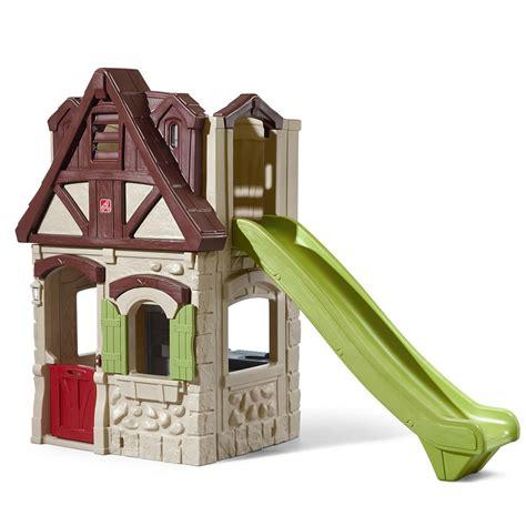 step 2 swing set instructions 2 story playhouse slide kids playhouse step2