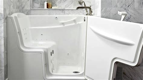 senior bathtubs with doors pros and cons of walk in tubs angie s list