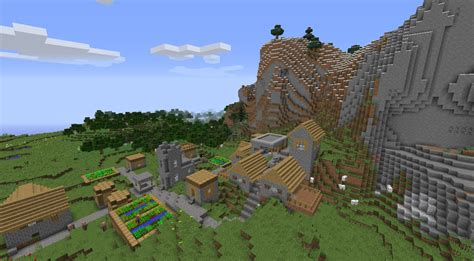 village layout minecraft file beautiful minecraft village seed with awesome village