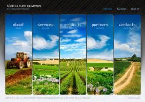 agriculture flash website template best website templates