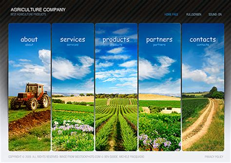 powerpoint themes agriculture agriculture flash website template best website templates