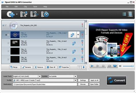 download converter mp3 to dvd download tipard dvd to mp3 converter 6 1 52