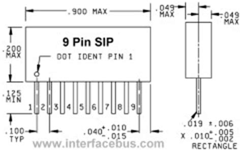 resistor network packages glossary of electronic bused resistor network schematics sip packages