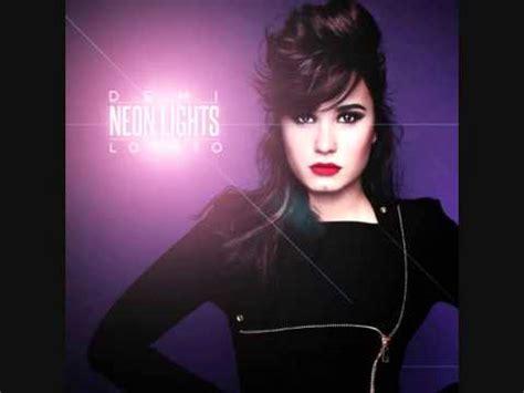 demi lovato songs remix demi lovato neon lights remix youtube