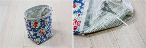tutorial tas kosmetik bagaimana cara membuat tas serut yang lucu