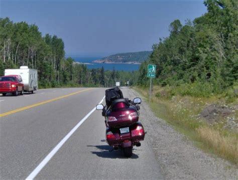 motorcycle road trip lake superior road trip michigan motorcycle rides and