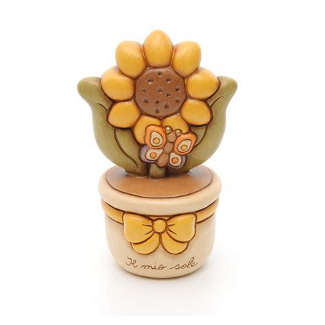 thun vasi vasetto con girasole thun thun articoli regalo e idee