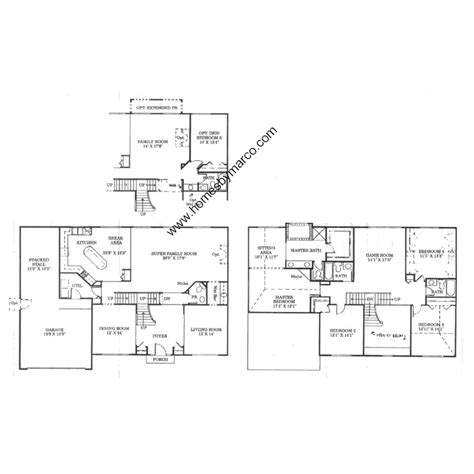kimball hill homes floor plans century model in the century farms subdivision in