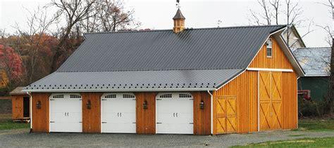 barn garages pole barns pole buildings by conestoga buildings