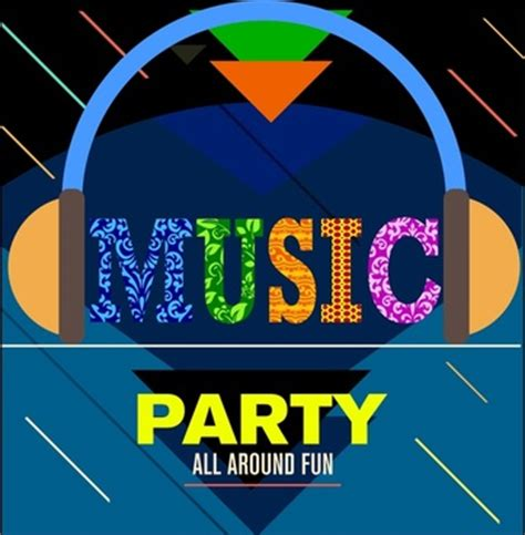 party music vector banner for free download about 3 369 vector