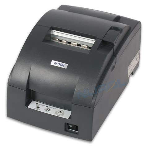 epson tm u220b receipt printer auto cutter usb connected