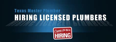 Plumbing Hiring by Hiring Licensed Plumbers Master Plumber