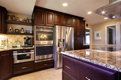 kitchen cabinets pensacola a remodel in pensacola florida transformed a kitchen