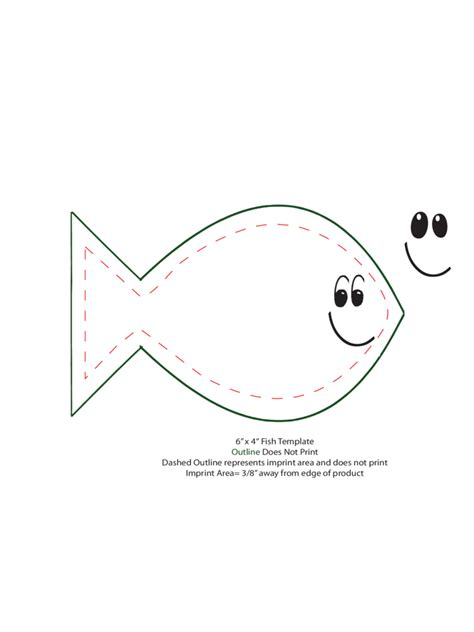 fish template pdf fish template 6 free templates in pdf word excel