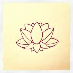 Simple Lotus Lotus Flower Design My Designs Lotus
