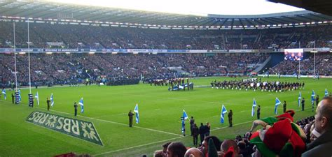 Calendario 6 Naciones 2015 Estadio Murrayfield En Escocia 6 Naciones 2016 Marca