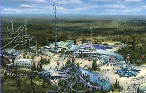 12 futuristic theme park concepts rides that are out of new quot green quot earthquest resort theme park in new caney