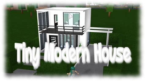 tiny house 5k roblox tiny modern house bloxburg