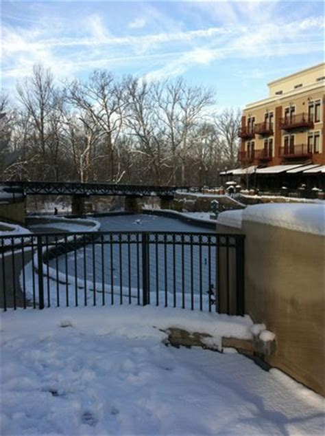paddle boats gahanna ohio frozen fountain picture of creekside park gahanna